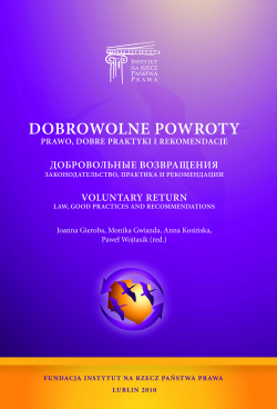 Voluntary returns – law, good practices and recommendations
