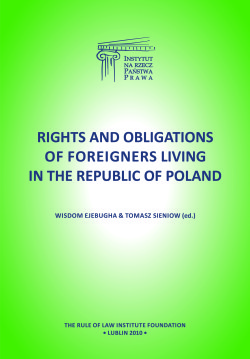 Rights and obligations of foreigners living in the Republic of Poland