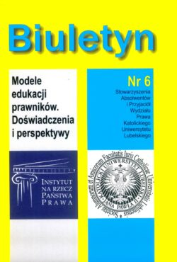 The Bulletin of The Association of Alumni and Friends of The Faculty of Law in The Catholic University